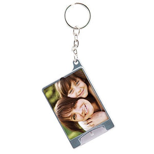 Snapins Mini Silver Photo Flashlight Keychain - Case of 72