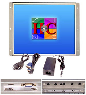 RetroArcade.us ra-17-lcd 17 inch Arcade Game led Monitor, for Jamma, mame, and Cocktail Game cabinets, Also Industrial pc Panel Mount.