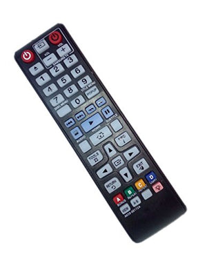 AK59-00172A Remote Control Replaced for Samsung BD-F5700 BDHM57CZA BD-H6500 BD-H6500/ZA DVD BD Blu-Ray Disc Player