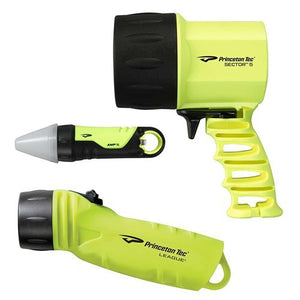 Princeton Tec Reef Pack LED Dive Light, Neon Yellow