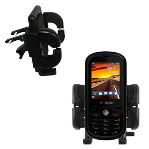 Gomadic Air Vent Clip Based Cradle Holder Car/Auto Mount Suitable for The Alcatel Sparq II