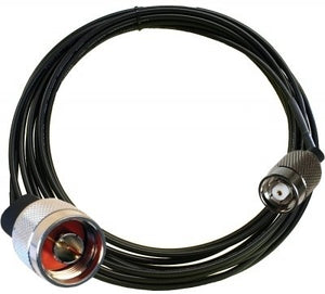 25 FT. Antenna Cable (195 Series, N-Type Male to RP-TNC Male)