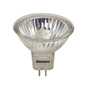 10 Pack 20 Watt MR16 Flood GU5.3 Base 120 Volt 2000 Hour Halogen Lightbulb