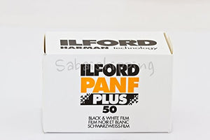 ILFORD PANF PLUS 50 BLACK AND WHITE FILM 35MM 36EXP by Ilford