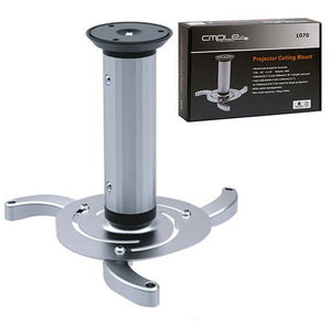 Cmple - Aluminum Ceiling Projector Bracket with Max Load Capacity 22Lbs and 360 Degree Rotatable