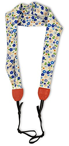 Scarf Camera Strap Camera Neck Shoulder Belt Bohemia Floral Vintage Print Band Colorful Universal Camera Straps