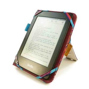 Tuff Luv Embrace Plus Material Case Cover for Amazon Kindle (Touch) 2014 / Voyage - Navajo