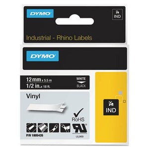 DYM1805435 - Rhino Permanent Vinyl Industrial Label Tape