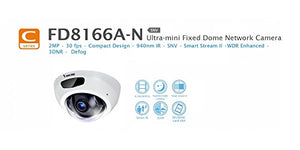 Vivotek FD8166A-N 2MP Network Mini Dome Camera with Night Vision