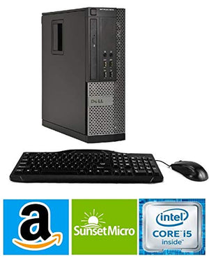 Dell Optiplex 980 Desktop / SFF High Performance Computer PC, Intel Core i5-650 Processor 3.2GHz, 8GB DDR3 Memory, 500GB HDD, Windows 10 Professional (Renewed) (500GB HDD DVW)