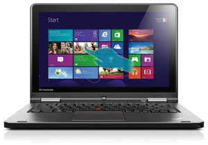 Lenovo ThinkPad Yoga 20CD00BAUS 12.5-Inch Convertible 2 in 1 Touchscreen Ultrabook (1.6 GHz Intel Core i5-4200U Processor, 4GB DDR3, 500GB HDD, 16GB SSD, Windows 8.1) Grey
