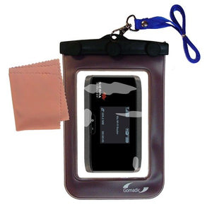 outdoor Gomadic waterproof carrying case suitable for the Sierra Wireless Aircard 760S / 762S / 763S to use underwater - keeps device clean and dry
