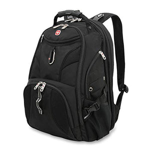 Swissgear 1900 Scan Smart Laptop Backpack | Fits Most 17 Inch Laptops And Tablets | Tsa Friendly Back