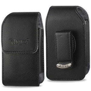 Vertical Leather Case for Kyocera Dura XV, Dura XA with Swivel Belt Clip and Magnetic Closure.