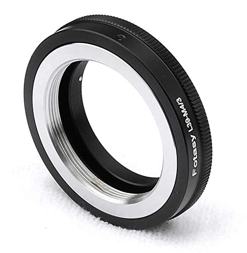 Fotasy Adjustable Leica M39 Lens To M43 Adapter, M39 39mm Ltm To Mft, Fits Olympus E Pl8 E Pl9 E M1