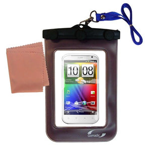 Gomadic Outdoor Waterproof Carrying case Suitable for The HTC Bliss to use Underwater - Keeps Device Clean and Dry