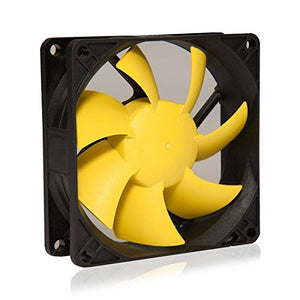 SilenX EFX-08-12 Effizio 80x25mm 12dBA 25CFM PC Computer Case Fan