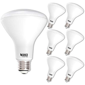 Sunco Lighting 6 Pack BR30 LED Bulb 11W=65W, 5000K Daylight, 850 LM, E26 Base, Dimmable, Indoor Flood Light for Cans - UL & Energy Star