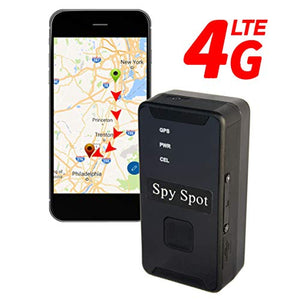 Spy Spot New 2019 Upgraded LTE 4G GL_300MA Portable Mini Real Time Tracking GPS Locator No Contracts + Unlimited Tracker Text Message Alerts + Perimeters