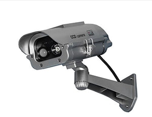 StreetWise SWDC7MSSP IR Dummy Camera with Solar Powered Motion Activated Strobe Light