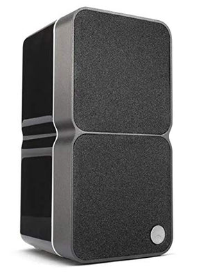 Cambridge Audio Minx Min 22 Bookshelf Satellite Speaker (Each) with 4th Generation BMR Technology (Black)