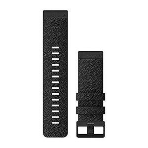 Garmin Quickfit Watch Band, Vented Carbon Gray Titanium Bracelet