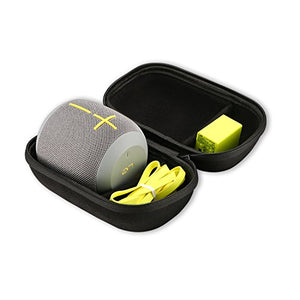Ultimate Ears WONDERBOOM/WONDERBOOM 2 Wireless Speaker Carrying Case, ProCase Travel Bag Hard Protective Coverwith Space for Wall Charger and USB Cable ??Black