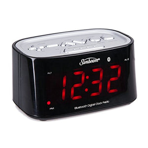 Sunbeam CR1009 Clock Radio w/ Bluetooth Connectivity