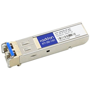 Tricentric AddOn SFP Mini-GBIC Transceiver Module, LC Single Mode (SFP-1OC48-IR-AO)