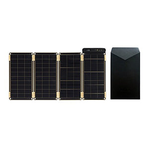 Solar Paper + Pouch, Paper-Thin and Light Portable Solar Charger with Ultra-High-Efficiency (10 Watt)