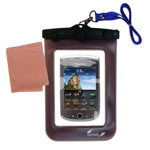 Gomadic Outdoor Waterproof Carrying case Suitable for The BlackBerry Torch 2 to use Underwater - Keeps Device Clean and Dry