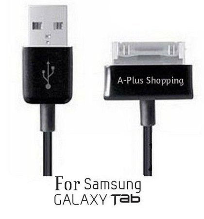 10 Ft. (Extra Long) USB Data Cable Cord Charger for Samsung Galaxy Tab 1, 2, 10.1, Note Tablet GT-N8013 (A-Plus Shopping)