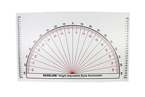 Baseline 12-1096 Adjustable Wall Goniometer