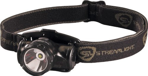 Streamlight 61400 Enduro Impact Resistant Headlamp with Elastic Strap, Black - 50 Lumens