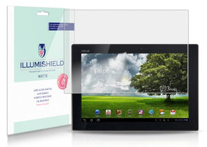 iLLumiShield Matte Screen Protector Compatible with ASUS Eee Pad Transformer TF101 10.1 inch (2-Pack) Anti-Glare Shield Anti-Bubble and Anti-Fingerprint PET Film