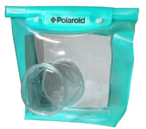 Polaroid Dive Rated Waperproof Pouch For Canon, Nikon, Sony, Pentax, Olympus, Panasonic Digital SLR Cameras