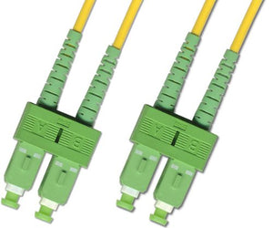 3M - Singlemode Duplex Fiber Optic Cable (9/125) - SC/APC to SC/APC