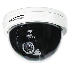 Speco CVC6246TW-IntensifierT 2MP 1080p HD-TVI Dome Camera with 2.8-12mm Lens