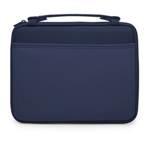 BoxWave iPad 3 Case, [Hard Shell Briefcase] Slim Messenger Bag Brief w/Side Pockets for Apple iPad 3 - Navy
