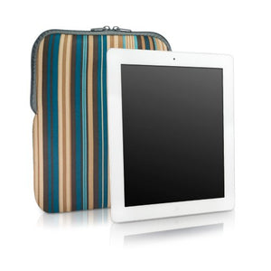 BoxWave iPad 4 Case, [Chic Pouch] Retro 70's Design Slip Sleeve for Apple iPad 4 - City Lights