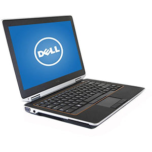 Dell Latitude E6320 13.3in Notebook PC - Intel Core i5 2520M 8GB 128GB SSD Windows 10 Profesional (Renewed)