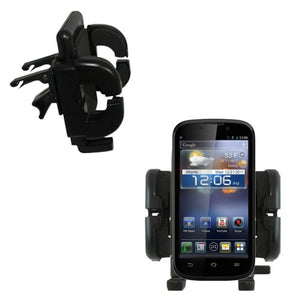 Innovative Vent Cradle Vehicle Mount Designed for The ZTE Awe - Adjustable Vent Clip Holder for Most Car/Auto Vent Systems