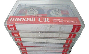 Maxell UR-90 Blank Audio Cassette Tape - 8 Pack