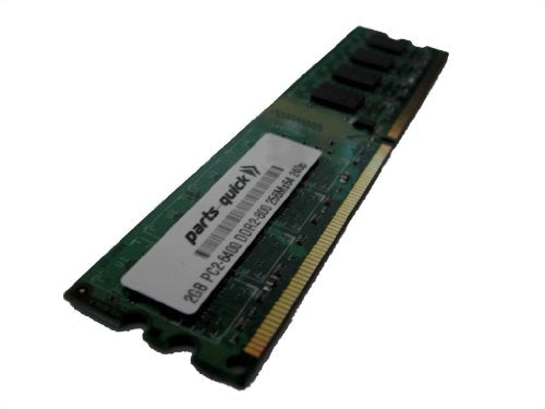 P4M900T-M2 Motherboard DDR2 PC2-6400 800MHz DIMM Non-ECC RAM Upgrade ECS PARTS-QUICK Brand 2GB Memory for EliteGroup