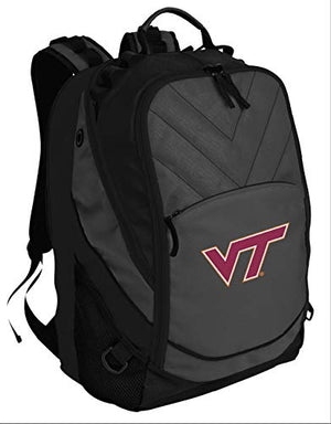 Broad Bay BEST Virginia Tech Hokies Backpack Laptop Computer Bag