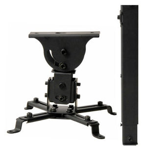 VideoSecu LCD DLP Projector Flat and Vaulted Ceiling Mount Bracket with Adjustable 26.7
