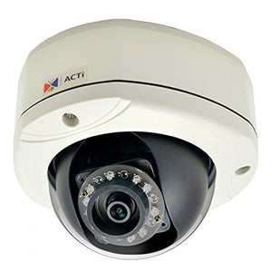 ACTi E76 2MP Basic WDR,Fixed lens IR Dome Camera