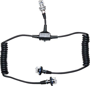 Sea & Sea 5-Pin Dual Sync Cord for Connecting 2 Strobes to Nikonos or Motor Marine III Underwater Cameras.