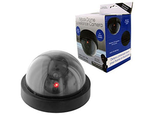 Bulk Buys Mock Dome Surveillance Camera - Pack of 24