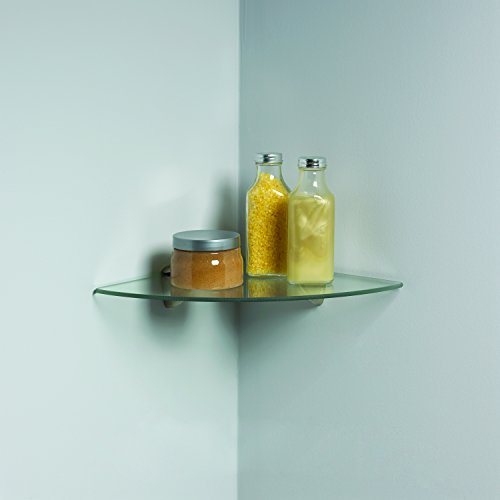 Knape & Vogt Vogt Kt-0134-1212Sn Decorative Corner Glass Shelf Kit L X 12 in W, 12 x 12""